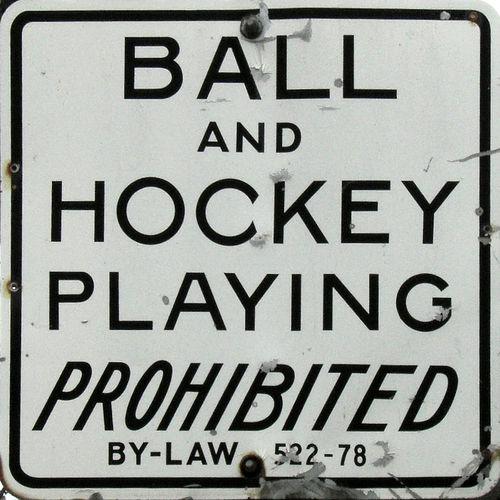 Quebec Dad Fights Street Hockey Fine