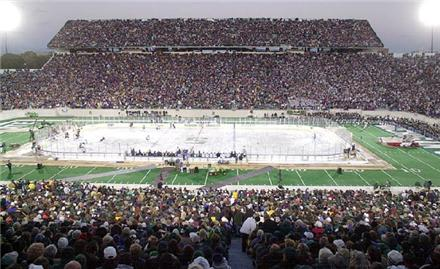 2010-11: The Year Of The Outdoor Hockey Game