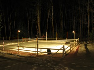 Backyard Ice Rink Lights how to build a 24'x40′ backyard rink for under $250 – backyard