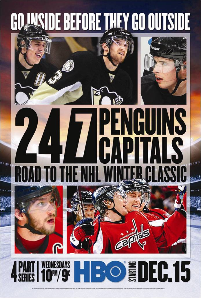 """HBO's """"24/7"""" Winter Classic Series Debuts Tonight"""
