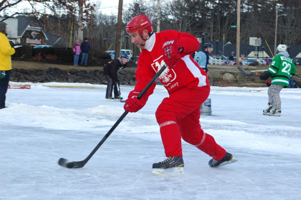 pond hockey classic a pictorial review backyard