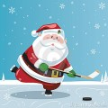 santa-claus-playing-hockey-21780247