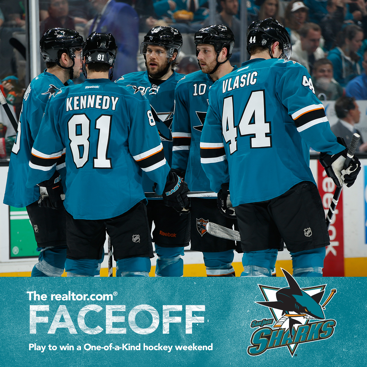 Enter the realtor.com Faceoff, Win a Trip to San Jose to Watch the Sharks!