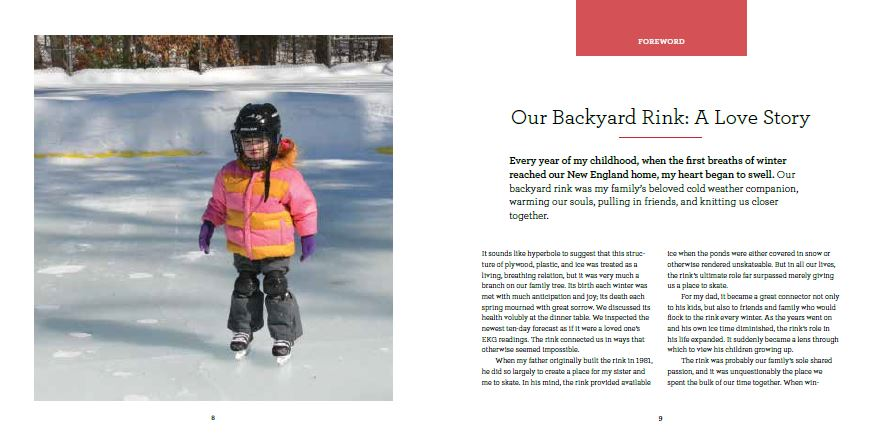 Sneak Peek of Our Upcoming Book (oh, and we still need your rink photos!)
