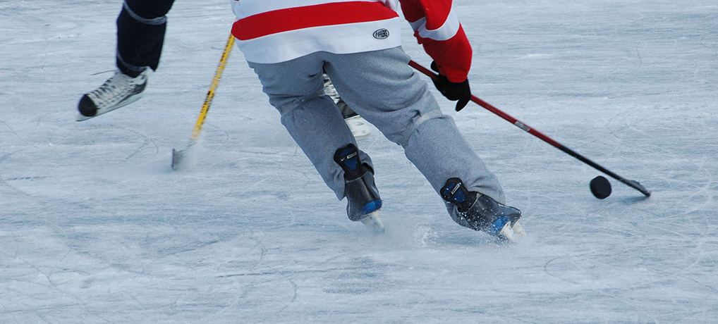Training Drills For Your Backyard Rink